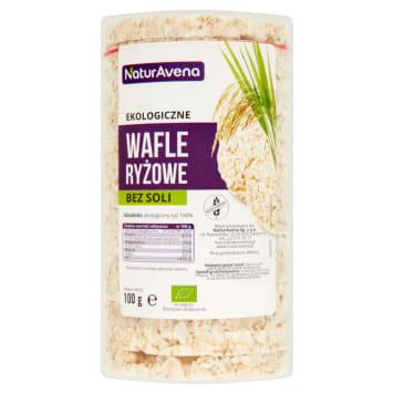 NATURAVENA Wafle ryżowe bez soli BIO 100g