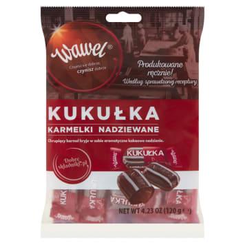 WAWEL Cukierki nadziewane karmelki Kukułka 120g