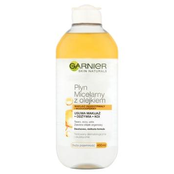 Garnier - Płyn micelarny z olejkiem arganowym. Delikatne oczyszczenie skóry twarzy.