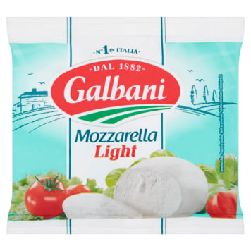 GALBANI Ser Mozzarella light 125g