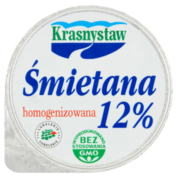 Śmietana 12% - Krasnystaw
