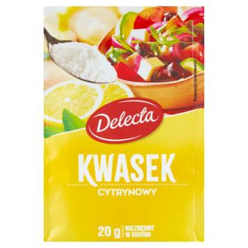 Kwasek cytrynowy 20g - Delecta