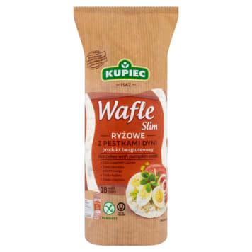 KUPIEC Wafle ryżowe z pestkami dyni 90g