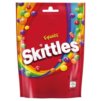 Draże owocowe - Skittles. Tęczowy przysmak o orzeźwiającym smaku.