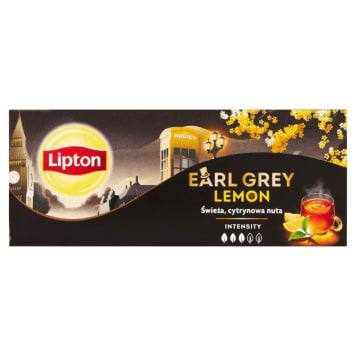 LIPTON Earl Grey Herbata czarna Lemon 25 torebek 50g