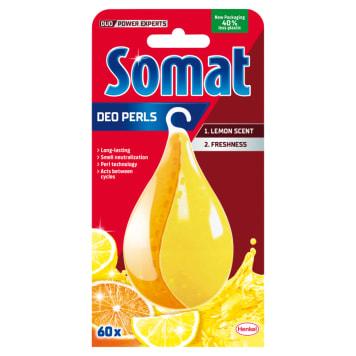 SOMAT Deo Duo-Perls Odświeżacz do zmywarek cytrynowo-pomarańczowy 17g