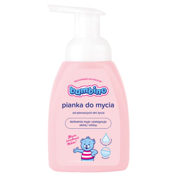 BAMBINO Pianka do mycia dla niemowląt 250ml