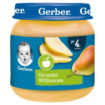 Gerber – Deserek Gruszki Wlliamsa po 4. miesiącu -