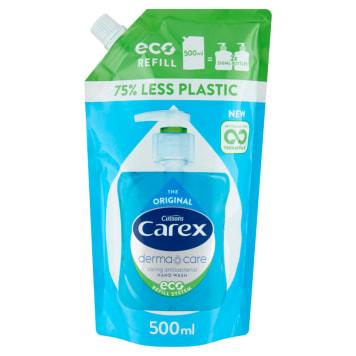 Antybakteryjne mydło w płynie - CAREX. Wzmocnij ochrone swojej skóry.