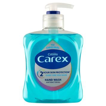 Carex - Antybakteryjne mydło w płynie Pure Blue. Wzmacnia, oczyszcza i pielęgnuje skórę dłoni.