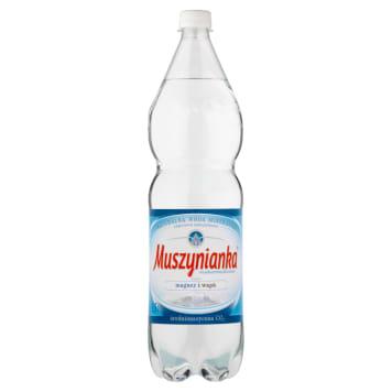 Naturalna woda mineralna gazowana Muszynianka