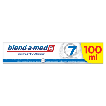 Pasta do zębów - Blend-a-med. Skuteczna ochrona przed próchnicą.
