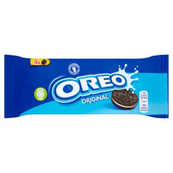 Ciastka kakaowe - Oreo. Doskonała przekąska o czekoladowym smaku.