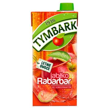 Tymbark - Napój jabłko-rabarbar. Sposób na szybkie ugaszenie pragnienia.