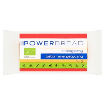 POWERBREAD Baton energetyczny BIO 50g - na bazie surowców z ekologicznych upraw.