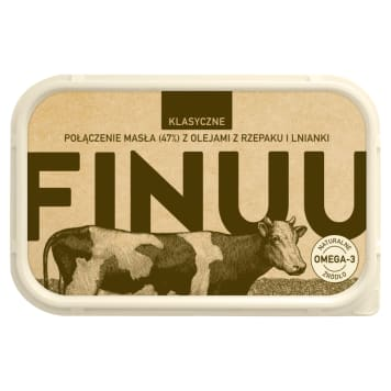 FINUU Klasyczne z fińskiego masła, olejów z rzepaku i lnianki 200g