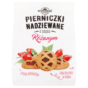 Pierniczki różane - Kopernik. Zawierają orzeźwiające nadzienie o owocowym smaku.