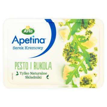 Serek z rukolą Arla wzbogacony jest dodatkiem bazylii i oliwy z oliwek. Komponuje się z pieczywem.