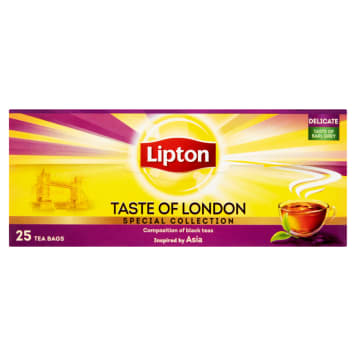 Lipton – Herbata ekspresowa Taste of London to popularna klasyczna odmiana herbaty.