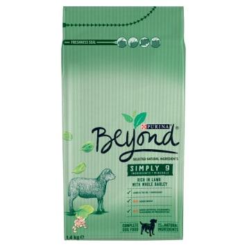 PURINA BEYOND Simply 9 Karma dla psów bogata w jagnięcinę i pełnoziarnisty jęczmień 1.4kg