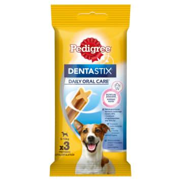 PEDIGREE DENTA STIX Mini Przysmak dla psów 3 szt 45g - dla ochrony psich zębów i dziąseł.