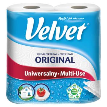 Ręcznik papierowy Czysta Biel - Velvet. Gwarancji doskonałej jakości w atrakcyjnej cenie.
