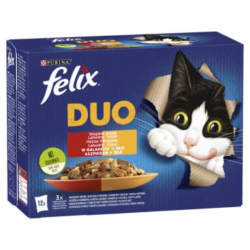 FELIX® Fantastic Karma dla kotów - Wiejskie smaki w galaretce 12x100g 1.2kg