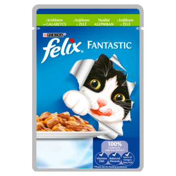 FELIX® Fantastic Karma dla kotów z królikiem w galaretce 100g