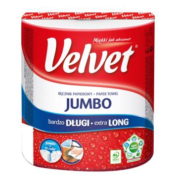 Ręcznik papierowy - Velver bardzo wydajny, ma długość ponad 120 metrów.