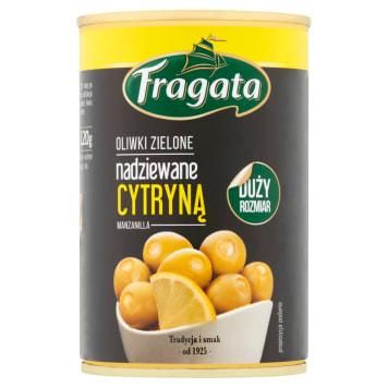 FRAGATA Oliwki zielone nadziewane cytryną 300g
