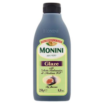 Krem z octu balsamicznego o smaku fig - Monini. Nadaje potrawą wyjątkowy smak.