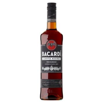 Rum - Bacardi. Najwyższej jakości, aromatyczny, mocny napój o 40% zawartości alkoholu.