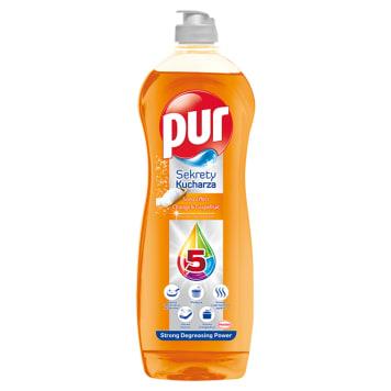 PUR Sekrety Kucharza Płyn do mycia naczyń Orange & Grapefruit 700ml