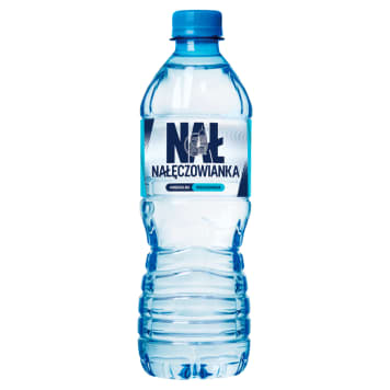 NAŁĘCZOWIANKA Naturalna woda mineralna niegazowana 500ml