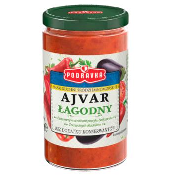 PODRAVKA Ajvar łagodny (pasta warzywna) 195g
