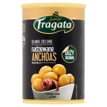FRAGATA Oliwki zielone nadziewane anchois 300g