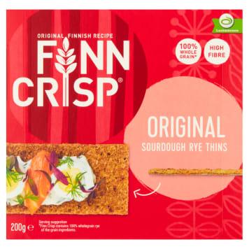 FINN CRISP Chleb chrupki żytni oryginalny 200g