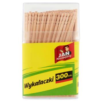JAN NIEZBĘDNY Wykałaczki 300 szt. 1szt
