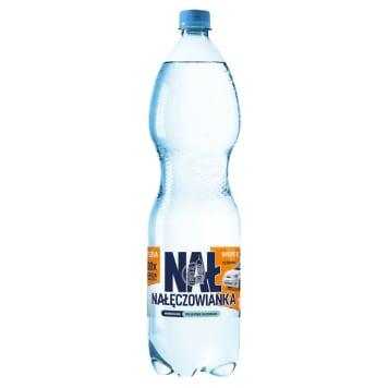 Naturalna woda mineralna delikatnie gazowana - Nałęczowianka