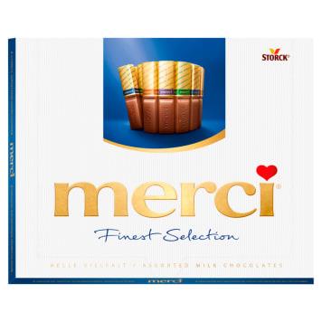 Merci Finest Selection - kolekcja czekoladek mlecznych. Produkt dla prawdziwych smakoszy.