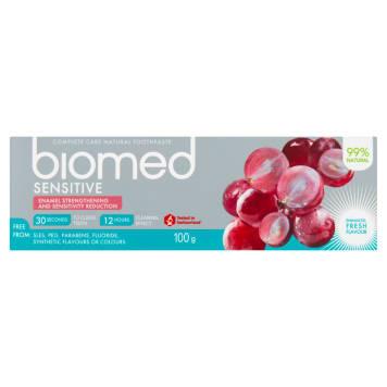BIOMED Sensitive Pasta do zębów wzmacnijąca szkliwo i odporność na nadwrażliwość 100ml