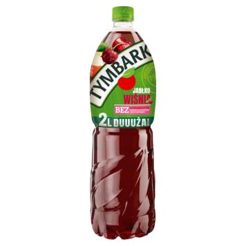 Tymbark – napój wiśniowo-jabłkowy, 2000 ml. Ma wyrazisty smak.