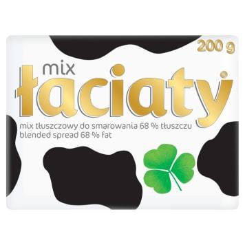 Mix tłuszczowy – Łaciaty. Produkt przeznaczony do codziennej konsumpcji oraz do smażenia.