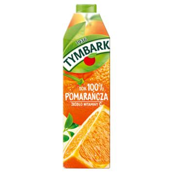 Sok pomarańczowy Tymbark - świeży i zdrowy smak owoców