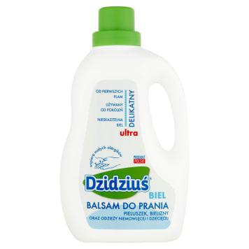 Balsam do prania do tkanin jasnych dla dzieci 1.5l - Dzidziuś - chroni biel i maluszka