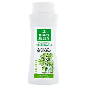 BIAŁY JELEŃ Hipoalergiczny szampon z naturalnym chlorofilem 300ml
