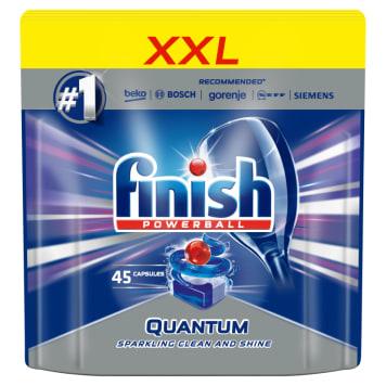 FINISH POWERBALL Quantum MAX Kapsułki do zmywarki Regular 45 szt 1szt