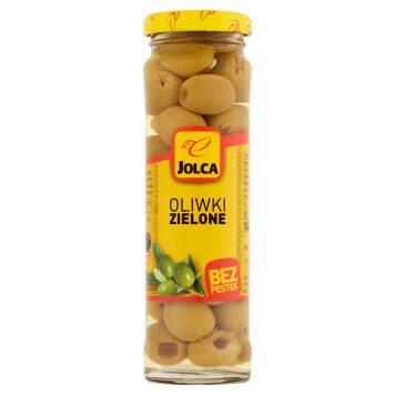 Oliwki zielone b/pestek Jolca pochodzące z tradycyjnych upraw w słonecznej Sewilli.