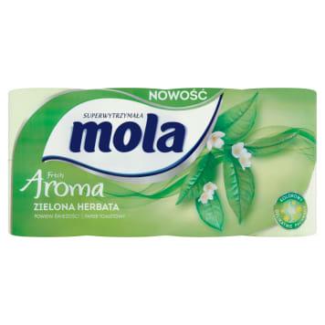 MOLA Papier toaletowy Zielony 8 szt. 1szt