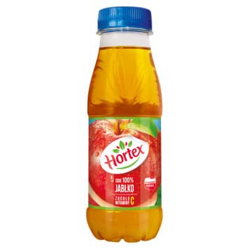 HORTEX sok jabłkowy 100% 300ml - Sok o wyjątkowym smaku i aromacie jabłek z polskich sadów.